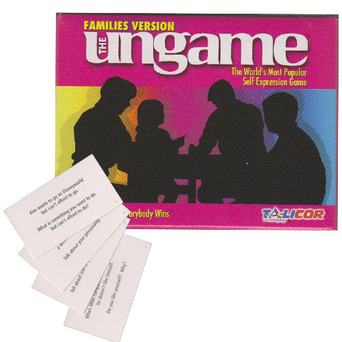 Family Ungame Cards and Pocket Game