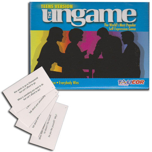 Teen Ungame Cards and Pocket Game