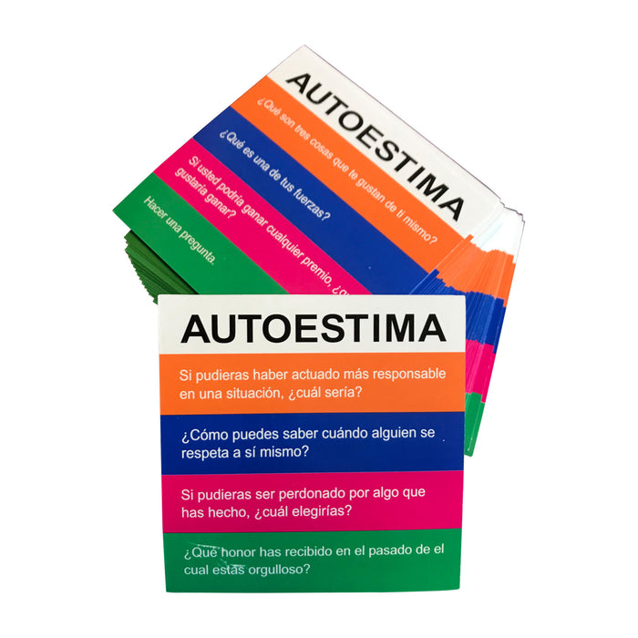 Spanish Self-Esteem/Autoestima Cards for Totika