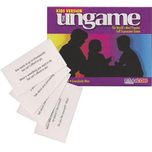 Kid's Ungame Cards and Pocket Game