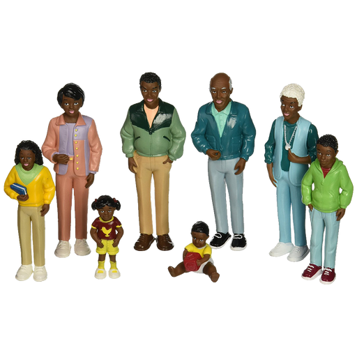 Pretend Play Family, African American