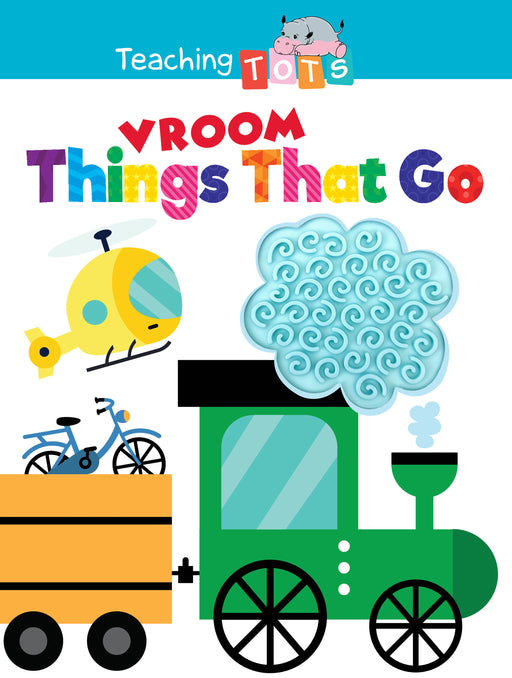 Vroom: Things That Go Sensory Silicone Touch and Feel Board Books