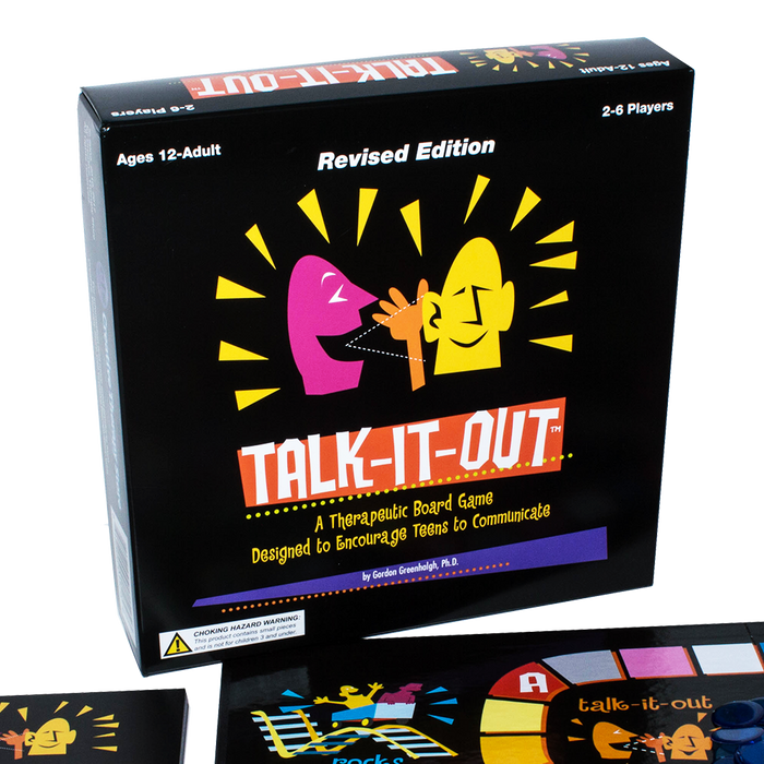 Talk It Out: Revised Edition (Supports Therapy with Teens)