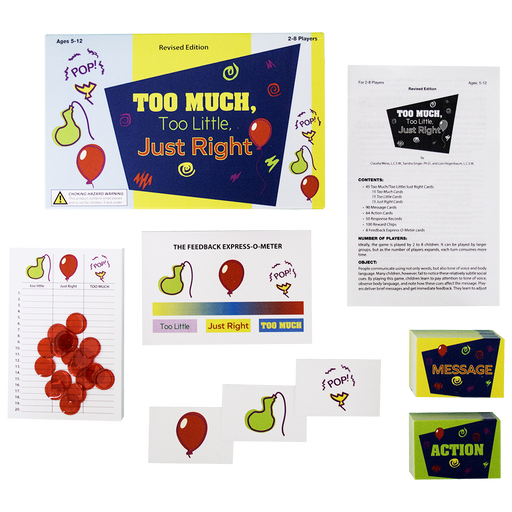 Too Much, Too Little, Just Right: A Social Communication Game, Revised