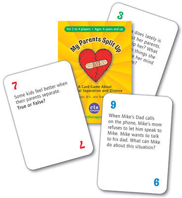My Parents Split Up: A Card Game About Parental Separation and Divorce