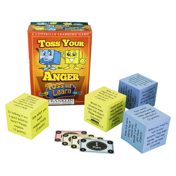 Toss and Learn Dice Games: Toss Your Anger