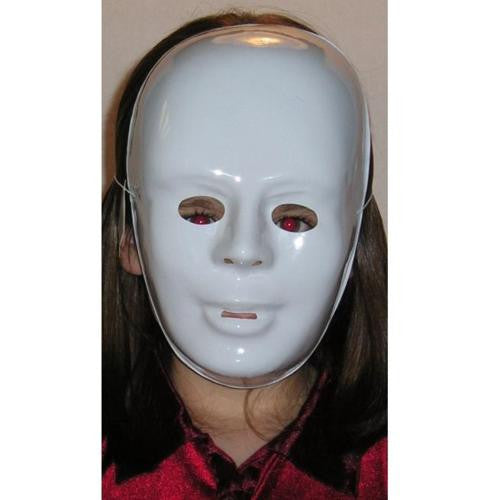 White Masks (Set of 4)