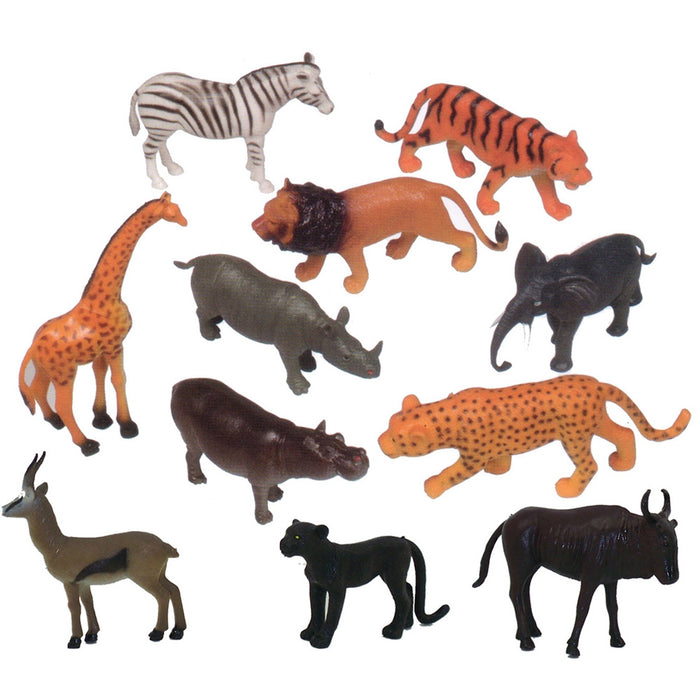 Large Wild Animals (Set of 11)