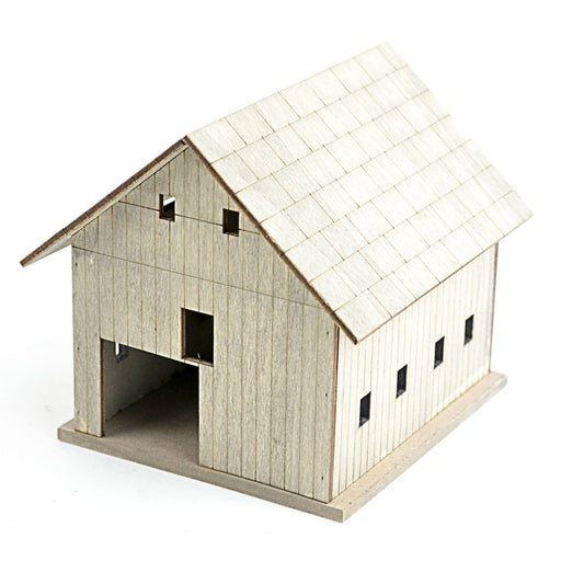 Weathered Wood Barn