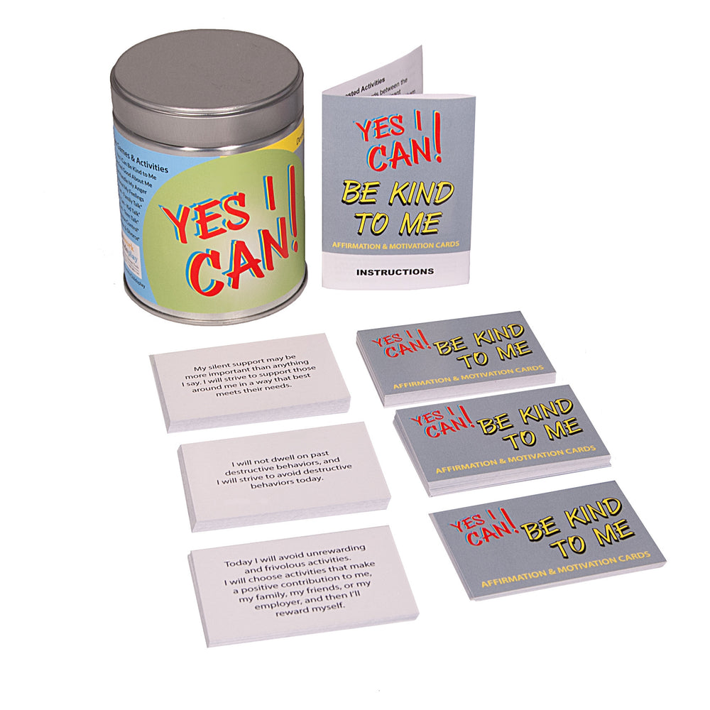 Yes I Can! Be Kind To Me (affirmation & motivation cards)
