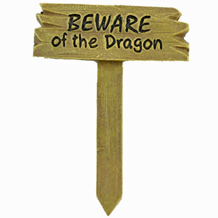 Beware of Dragon Sign
