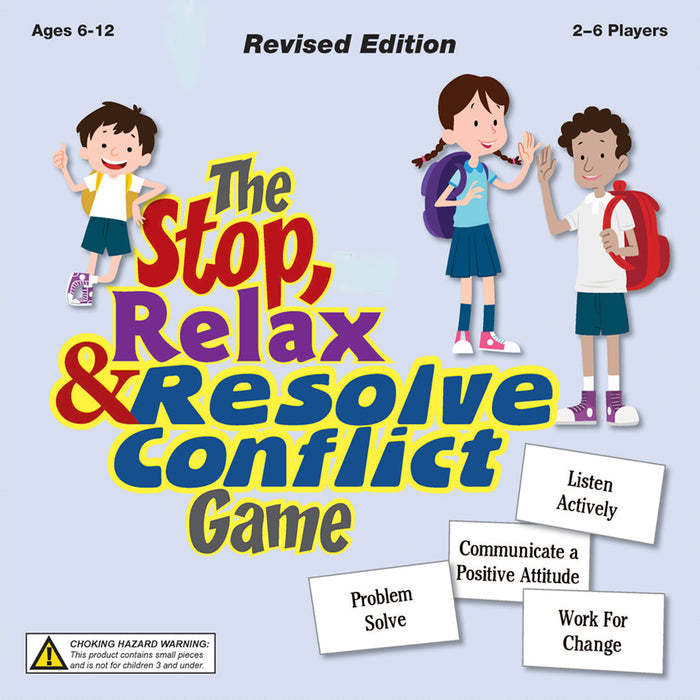 Stop Relax & Resolve Conflict