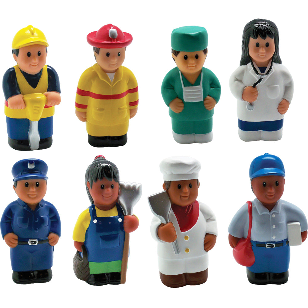Set of 8 Career Figures (5 inch)