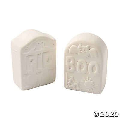 Ceramic Tombstone (Set of 6)