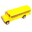 Medium Diecast Metal School Bus