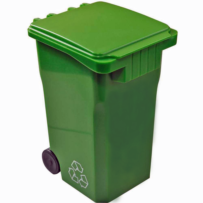 Rolling Trash Can/Recycling Can
