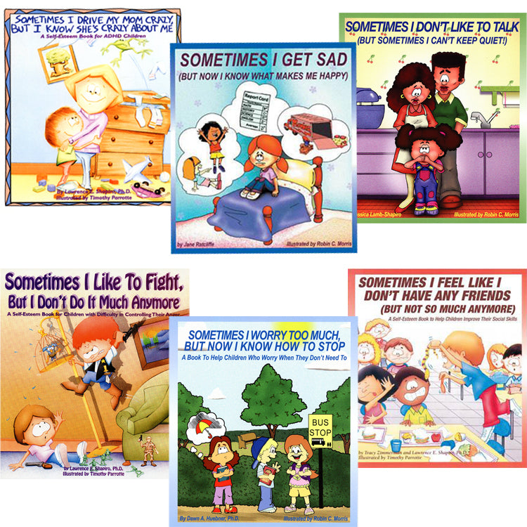 All Six Books in The Self-Esteem Series