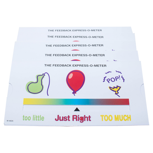 *Just Right Express-O-Meter (Pack of 5)*