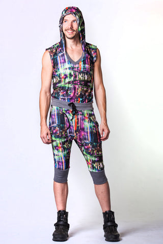 Ninja Onesie - City Lights Print