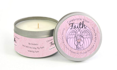 Celebrate Your Faith Front Angel - Pink