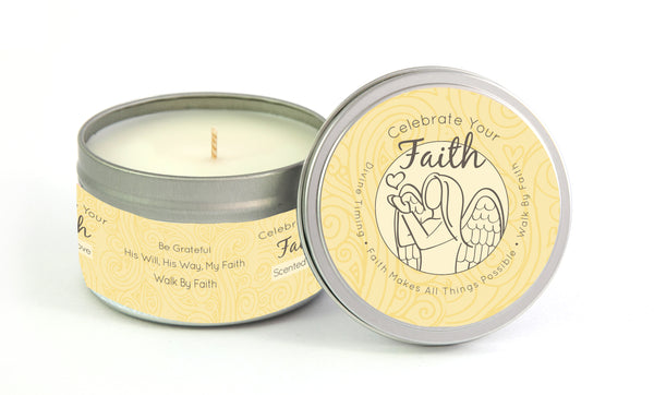 Celebrate Your Faith Side Angel - Yellow