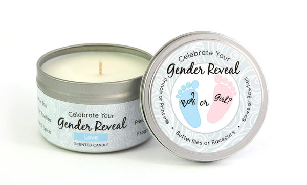 Color Changing Wax Gender Reveal Boy - Wax 6.5 oz.