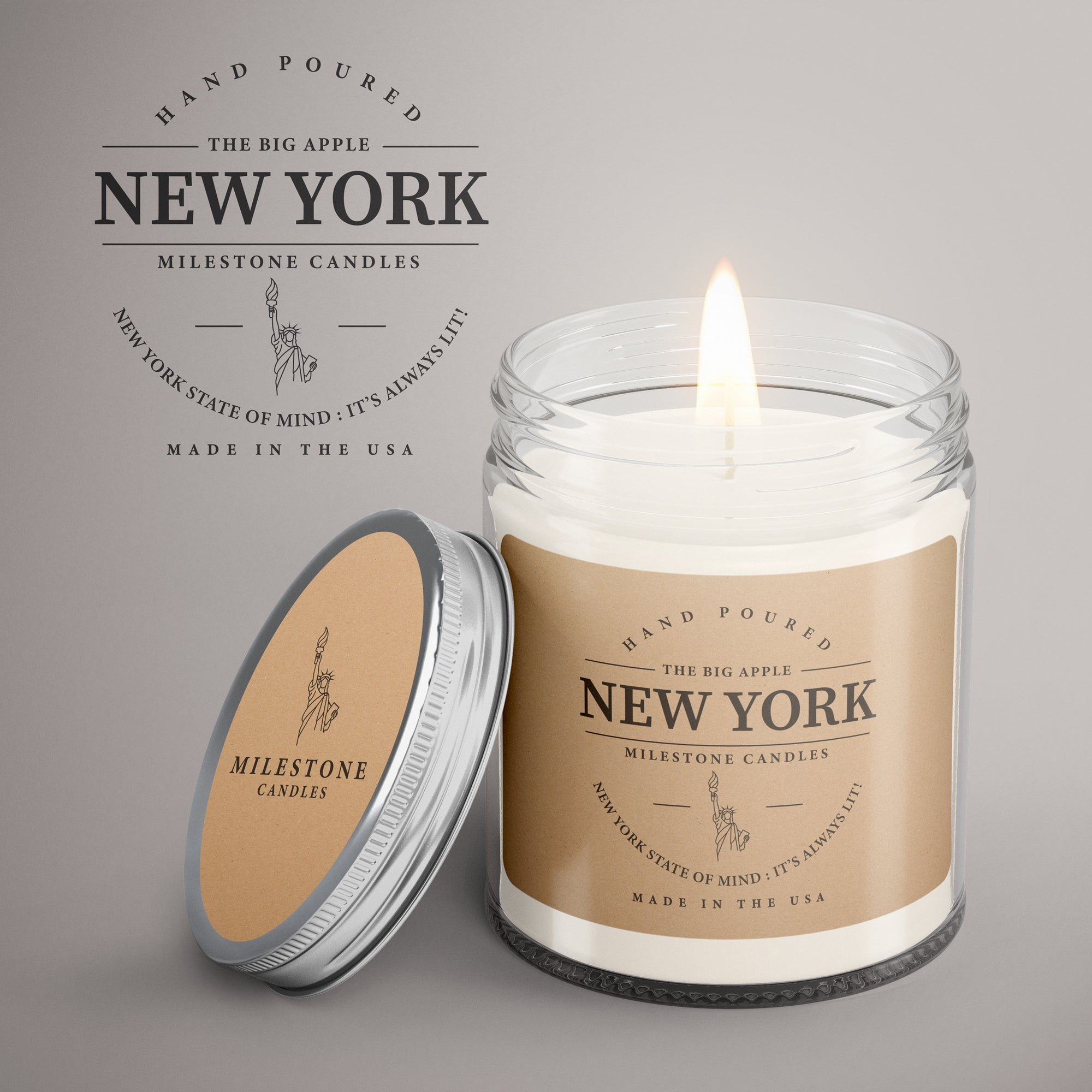 New York City Keepsake Mason Jar Candle