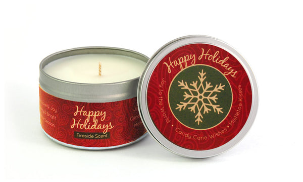 Happy Holiday's Candle