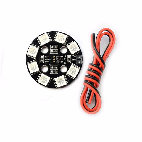 Matek Systems RGB LED Circle X8/16V - Drone Racing Supply