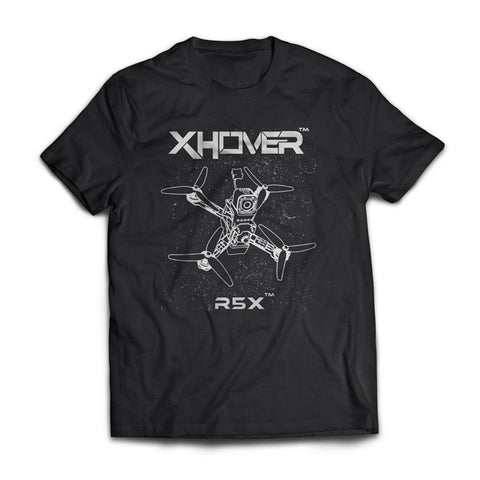 Xhover R5X T-Shirt - Drone Racing Supply
