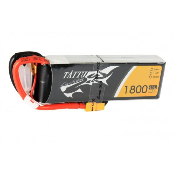 Tattu 1800mAh 45C 3S LiPo Battery - Drone Racing Supply