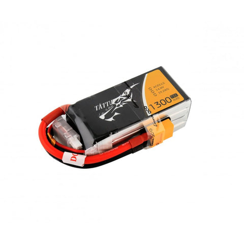 Tattu 1300mAh 75C 4S LiPo Battery - Drone Racing Supply