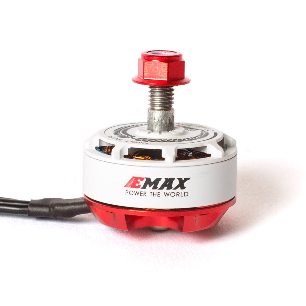 EMAX RS2306 RaceSpec Limited Edition White Motors - Drone Racing Supply