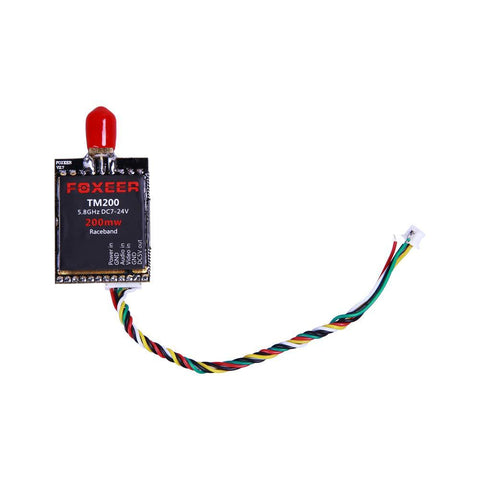 Foxeer TM200 FPV Mini 5.8G SMA 40CH 200mW VTX Race Band - Drone Racing Supply