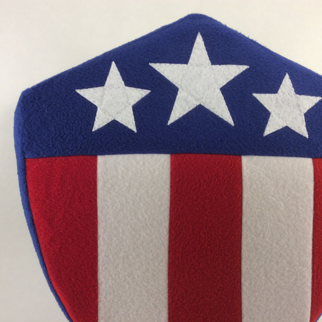 Patriotic Classic Shield Pillow