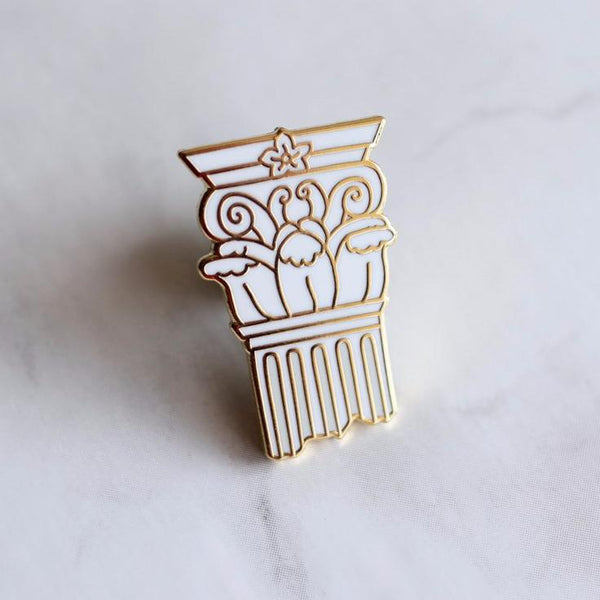 Classical Columns Pin Set