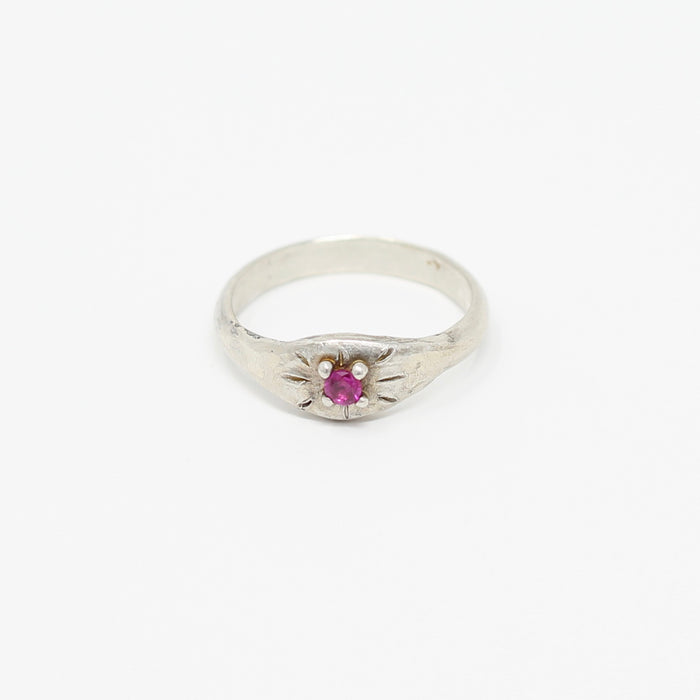 Ruby Ring size 6 (r103)