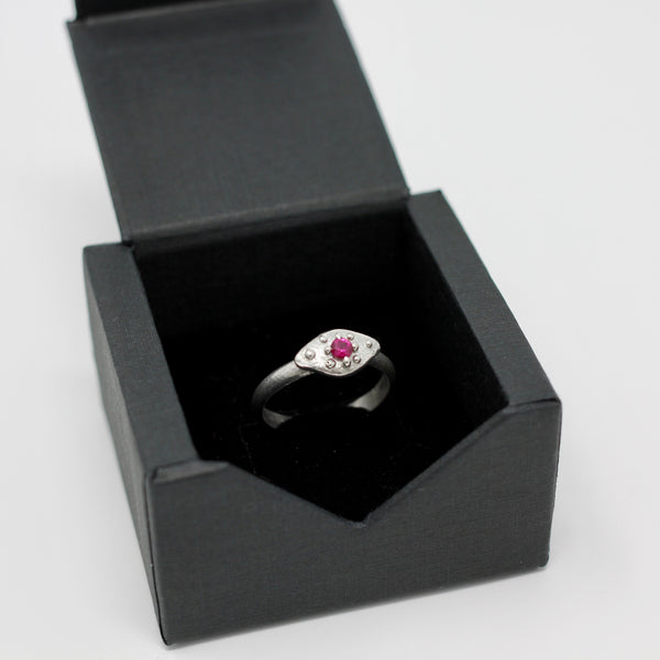 Ruby Ring size 7.5 (r109)
