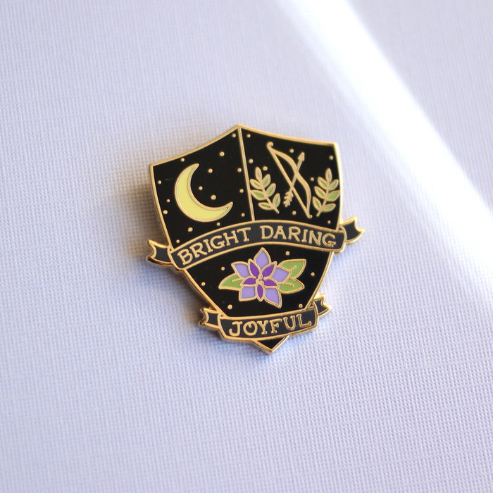 Moon Goddess Enamel Pin