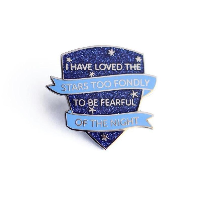 Astronomer's Motto Pin by Shiny Apple Studio