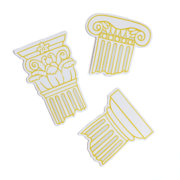 Classical Column Sticker Set