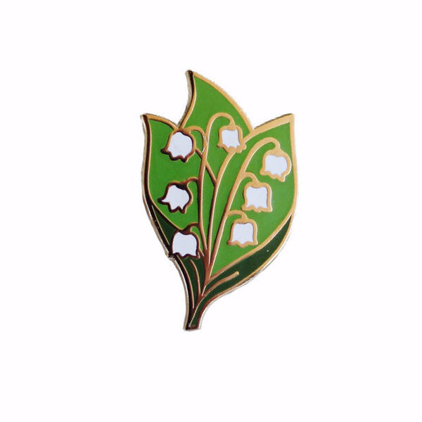 Lily of the Valley Pin - Gold