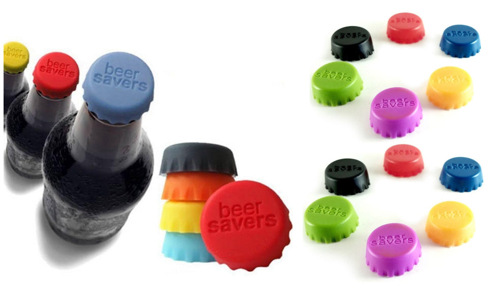 Snappy Toys 6Pcs New Silicone Bottle Cap Cover Lid Stopper Cork Wine Glass Beer Saver Capsule Fresh