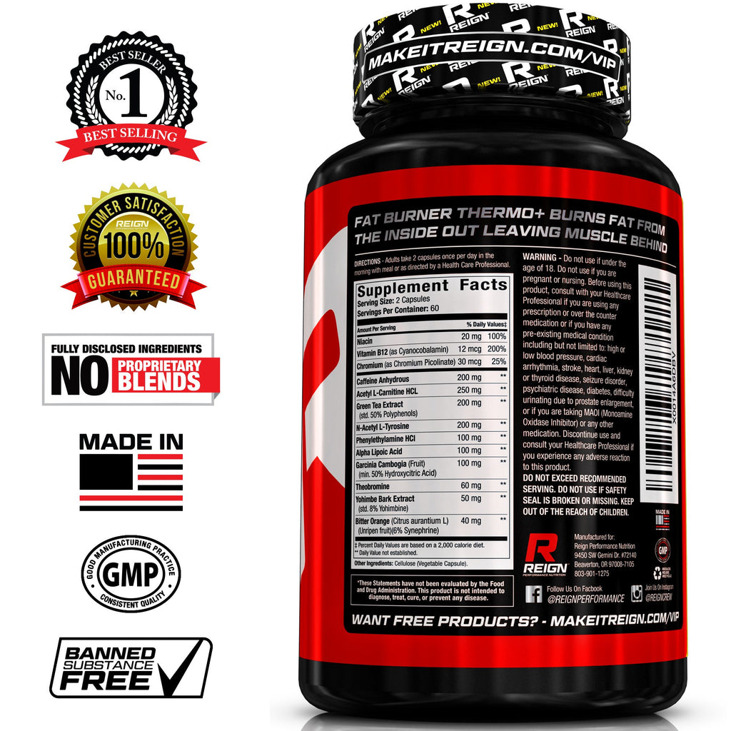 regign fat burner thermo review
