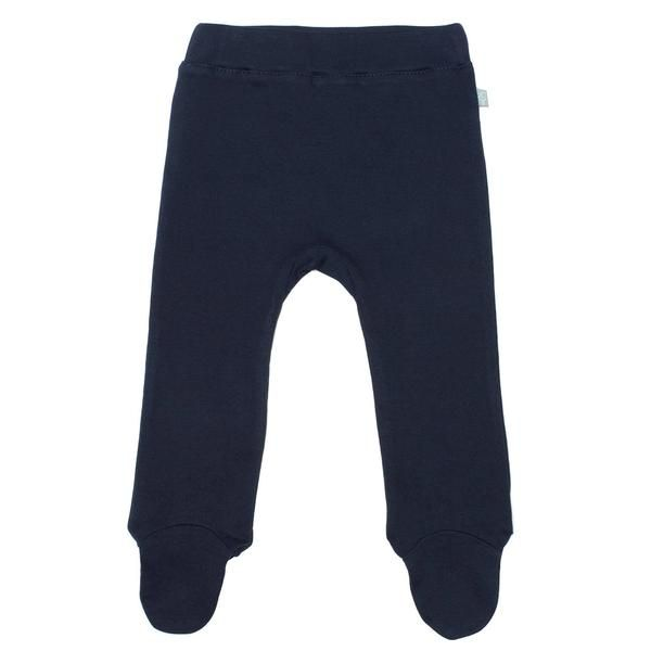 Footed Pant - Navy Robot