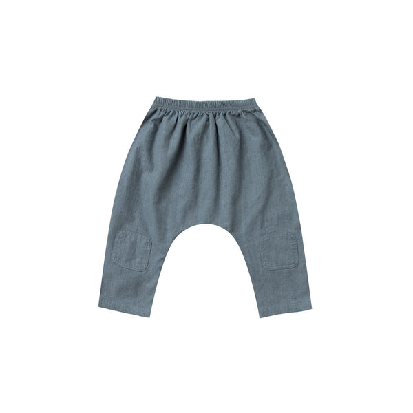 Baggy Harem Pant - Stormy Blue