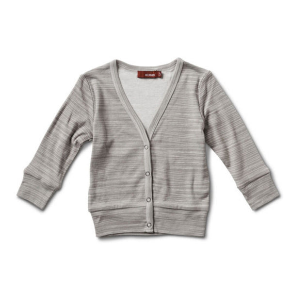 Cardigan - Grey Stripes