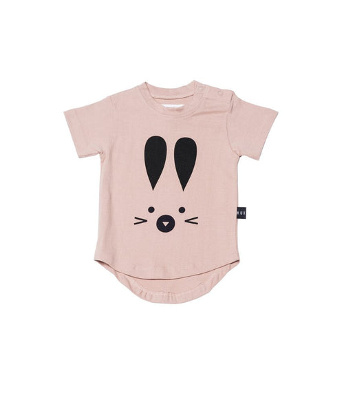 Hux Bunny Drop Back Tee - Fawn