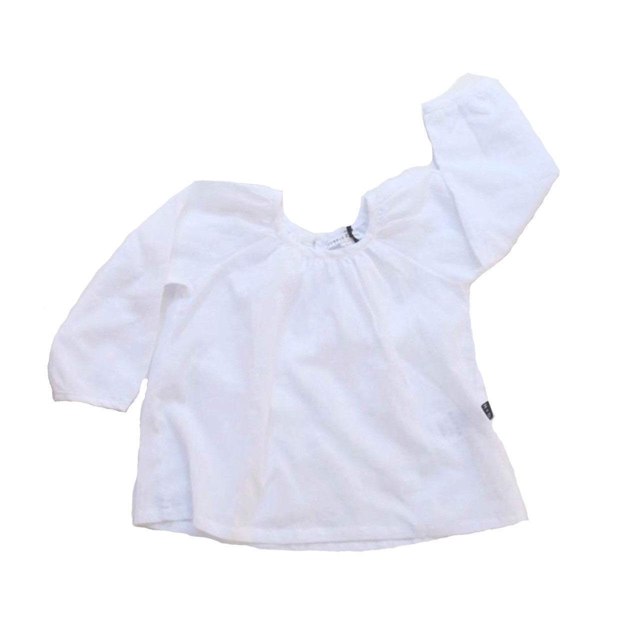 Billowly Smock Top - White