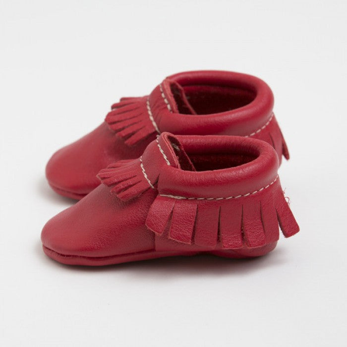Fire Engine - Red Moccasins